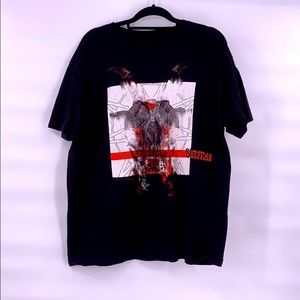Vintage slipknot black t shirt size xl